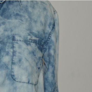 31fa25fc58a China Women s Shirts Casual Denim Shirt Medium Indigo Jean Shirts on ...