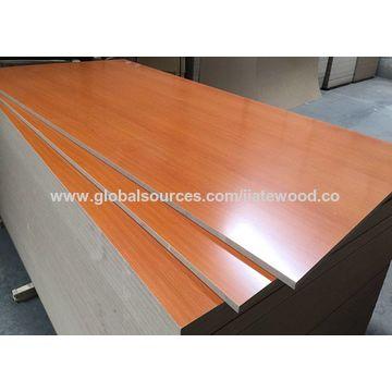 China Beech Color Melamine Mdf Board Wood