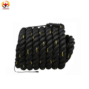 China Best selling body building gym power battle rope on