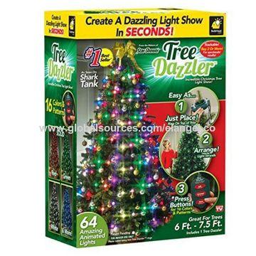 China Hot Sale Tree Dazzler Christmas Tree Decorative Led