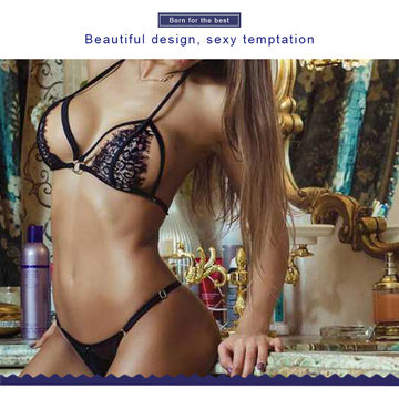 0bbdfcfd335 ... China Sexy Lingerie Set Lace Bandage Underwear Fishnet Socks Panties SM  Play OEM Accepted ...