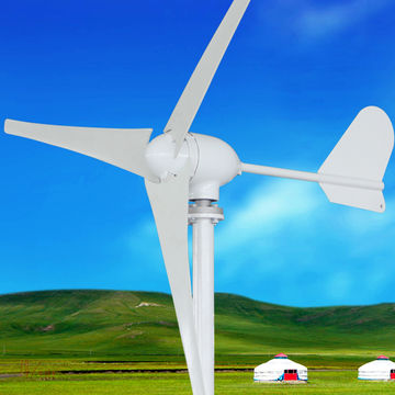 China 400W small wind generator turbine on Global Sources