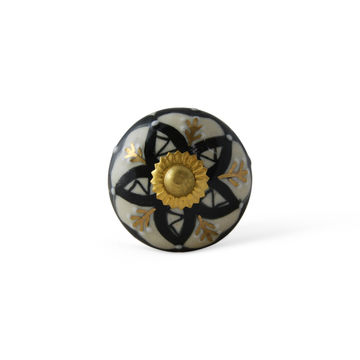 ... India Hand Painted Ceramic Knobs U2013 Decorative Drawer Pulls For  Cabinets, Dressers   Unique Handmade ...