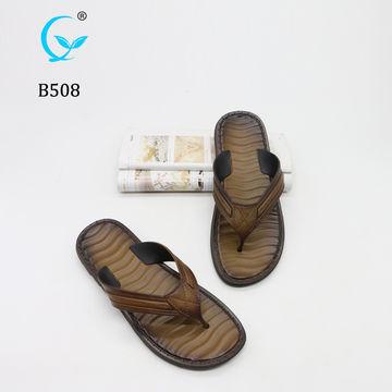 427a2758af8190 ... China 2019 Latest Design Slides men sandals Slipper pu Sandals flip  flop chappal design ...
