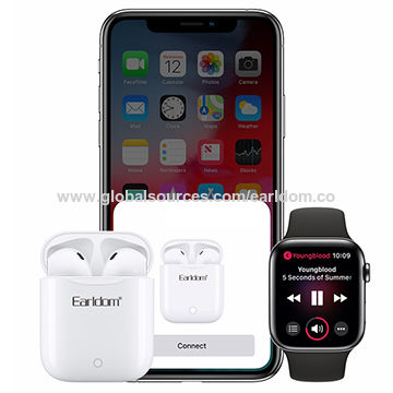 China Bluetooth headphone wireless charging touchable