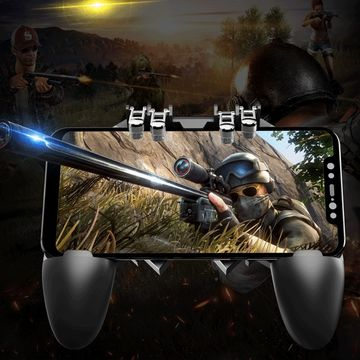 China MEMO AK66 PUBG mobile controller for Android and ISO Device on