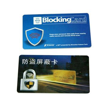 Credit Card Protector RFID Blocking Card
