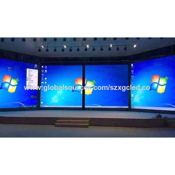 China Shenzhen HD LED video wall RGB SMD P4 81 indoor cheap