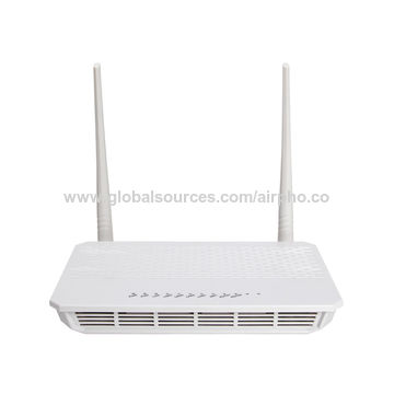 China Airpho GP624GV 4-Port 300Mbps Wireless GPON Router with VoIP