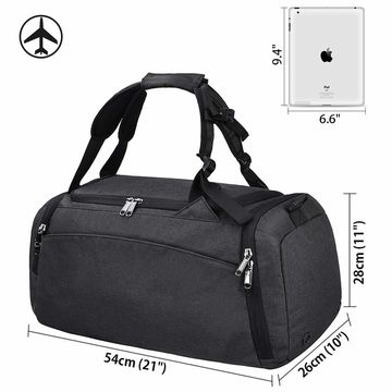 b45754632 ... China Gym Duffle Bag Waterproof Trave Bag for Men Women, with Shoes  Compartment ...