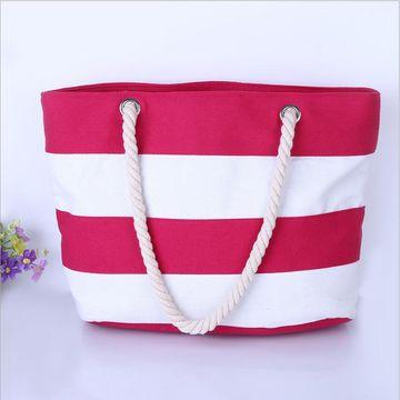 07011baa5b9 ... China Bolso con el bolsillo con cremallera interno - bolso de la playa  de la playa ...