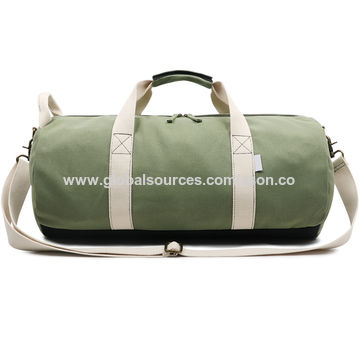 China Weekend Travel Cotton Bags Canvas Duffle Bag Sports Gym Bag on ... 97c0e22603823