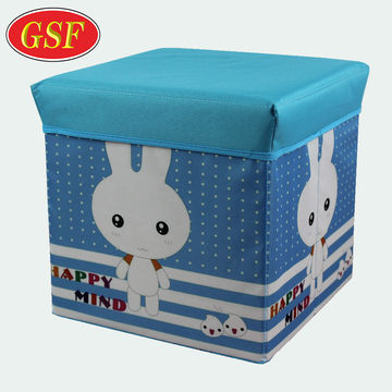 Astounding China Hot Selling Cute Foldable Laundry Storage Ottoman Kids Machost Co Dining Chair Design Ideas Machostcouk