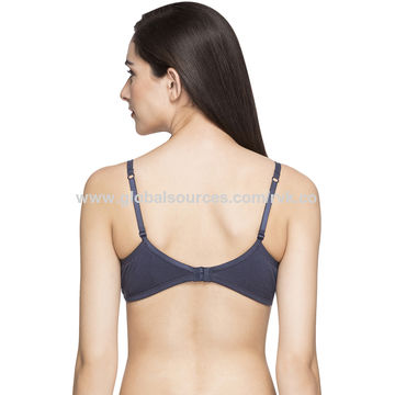 4965e9cd0 India Cotton padded non-wired Bra on Global Sources