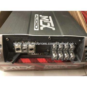 china mtx thunder60 4 120 watt rms power amp car audio bass amplifier +  wiring