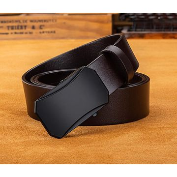 China Best Sell Wholesale Men Classic Pure Cow Genuine Leather Belts