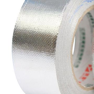 China Heavy Duty Silver Fiberglass Cloth Insulation Reinforced