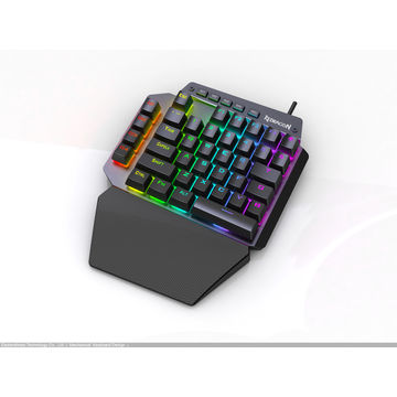 0b7c3a6a77a ... China RGB Mechanical one handed Gaming Keypad with 4 Macro keys ...