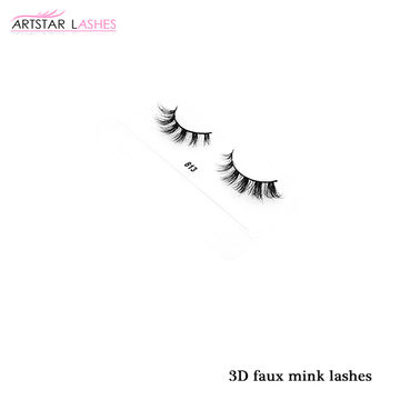 40ca7441a22 ... China Professional Eye Lashes Factory Supply 3D Faux Mink Eyelash,100%  Handmade And Best ...