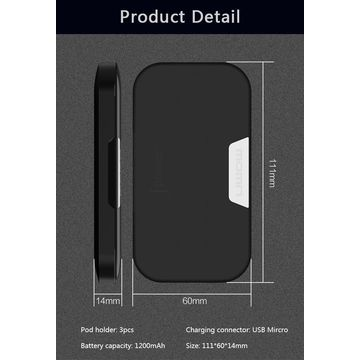 China Naee Jpower juul charger box mod 1200mah wholesale