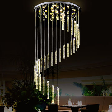 China Dimmable Led Round Pendant Lights