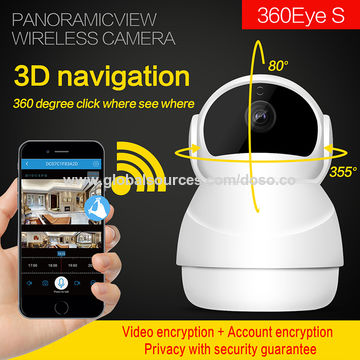 China Smart VR 360 Degree Panoramic HD 1080P IP Camera on