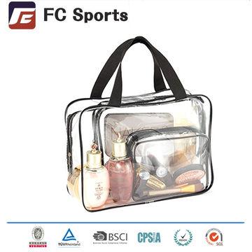 China Clear Travel Toiletry Bag Portable Transpa