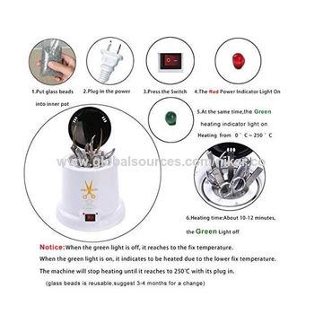 China Nail Sterilizer Disinfect Machine High Temperature Metal ...