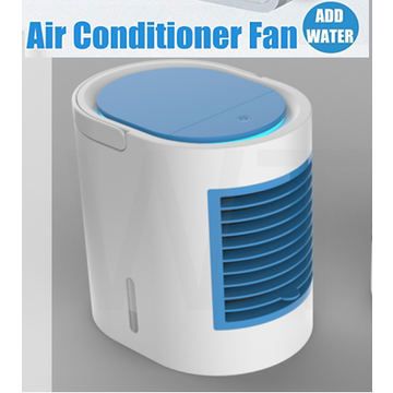 China Mini Cooling Fan Portable USB Rechargeable Air Conditioner Fan