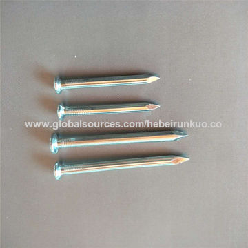 China China high strength concrete steel nail on Global Sources