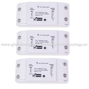 China Sonoff Basic 10A Wifi Smart Switch Remote Wireless Timer Light