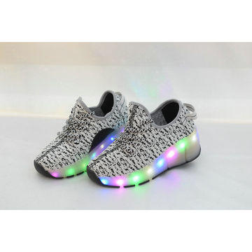101c0662cb China Breathable LED Light Up Shoes Flashing Sneakers For Kids Boys ...