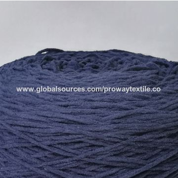 China Chenille Yarn with Mossy Look Suitable for Kids and Ladies