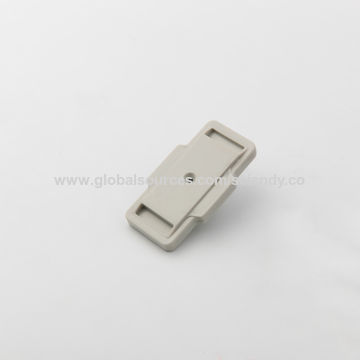 China Mini RFID Clutch Tags with Clip Lock, Customized