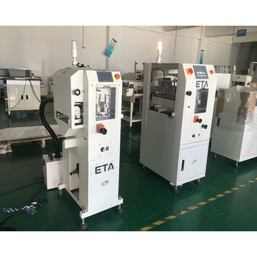 China Automatic Aqueous SMT Stencil Cleaning Machine PCB Printer
