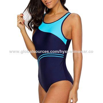 e86b02dbcc2c3 ... China Women's chlorine-resistant swimwear, one piece swimsuit ...