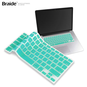China Silicone Keyboard Cover Protector Skin for Macbook Pro