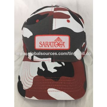 fdd25d32485 Customized Design Hats Caps printed camo Fitted Baseball Caps With woven  patch New
