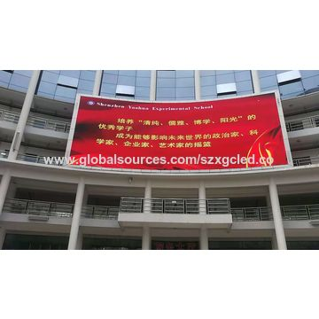 China 3535 smd led module Outdoor Signboard screen P10 RGB
