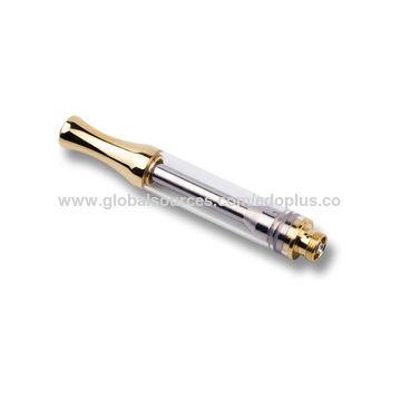 China 510 thread ceramic coil glass tank e-cigarette cbd