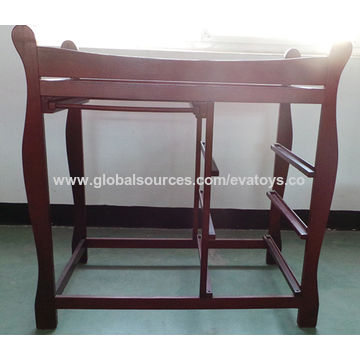 China Modern and useful wooden baby changing table with ...
