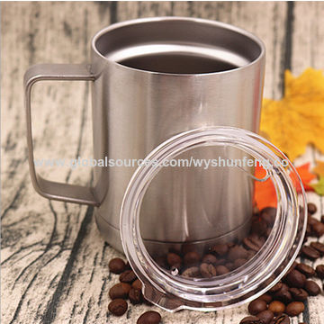 Travel Wall Stainless Mug Steel Double n0Omw8vN