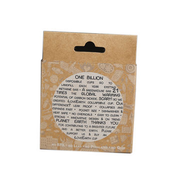 China Customized Kraft Paper Packaging Coffee Cups Packaging