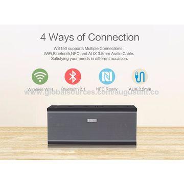 China August Multiroom Wireless WiFi Speaker stereo Sound