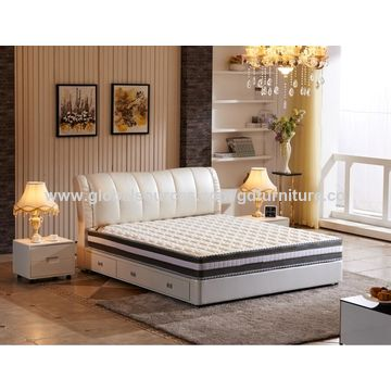 China Leather Bed Morden Style Bedroom Furniture King Size