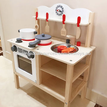China Top quality pretend wooden kitchen play set for ...