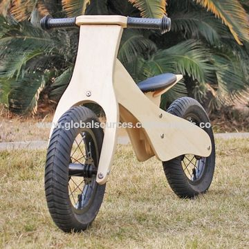 China Most Popular Children Wooden Balance Bike For 2 Year Old Up