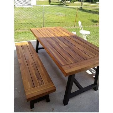 62ea097eb1 ... Vietnam Acacia Wood Dining Set/ Classic Outdoor Dining Set/  Multifunctional Picnic Table And Benches ...