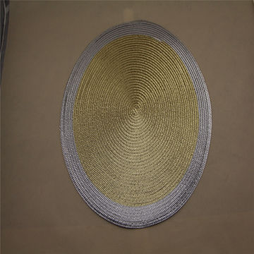 China Whole High Quality Round Table Placemats Woven Pp