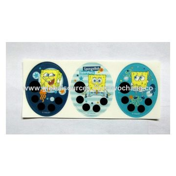 Taiwan Fever indicator sticker patch-with 3M Medical tape at